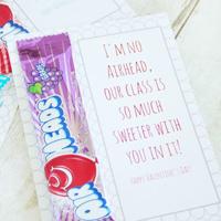 Airheads Printable Valentine\'s