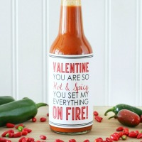 Hot & Spicy Valentine\'s Printable