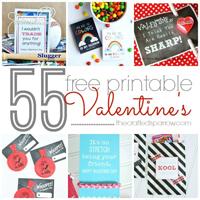 55 Free Printable Valentine\'s