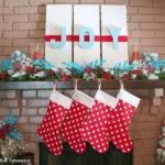 Making Christmas Stockings…