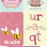 Valentines Day Card Printables – 32 Designs!