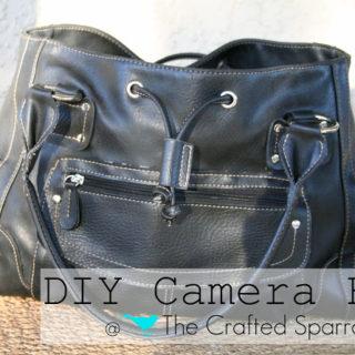 DIY Camera Bag Tutorial – I made my OWN!