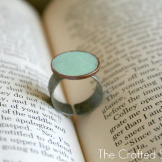 DIY Coin Ring – it will only cost you a Penny!