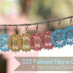 DIY Patinaed Filigree Earrings