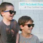 DIY Painted Sunglasses