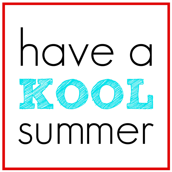 graphic regarding Have a Cool Summer Printable titled Comprise a KOOL Summer months Printable Conclude of 12 months Presents