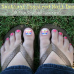 DIY Nautical Inspired Nail Decals