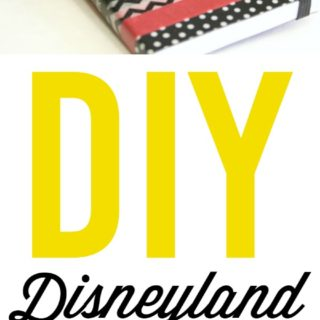 Making Disney Memories – Part 1 {Washi Tape Disneyland Autograph Books}