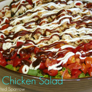 BBQ Chicken Salad {CPK Recipe Knock Off}
