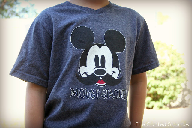 Disney Mouse Stache T-Shirt