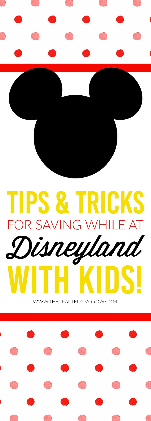 Tips & Tricks for Saving While At Disneyland with Kids!