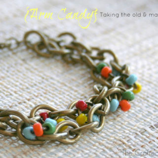 {Arm Candy} – A jewelry revamp & some new simple DIY pretties for the wrist