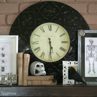 Halloween Mantle