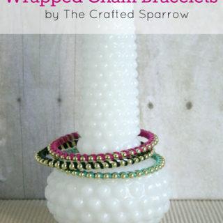 Wrapped Chain Bracelets
