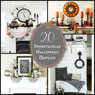 20 – Spooktacular Halloween Mantle's & Displays