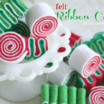 Felt Ribbon Candy