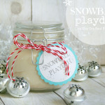 Snowball Playdoh