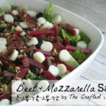 Beet + Mozzarella Salad
