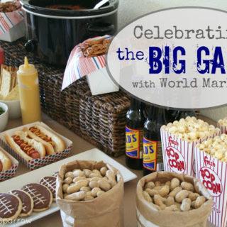 Celebrating the BIG GAME with World Market
