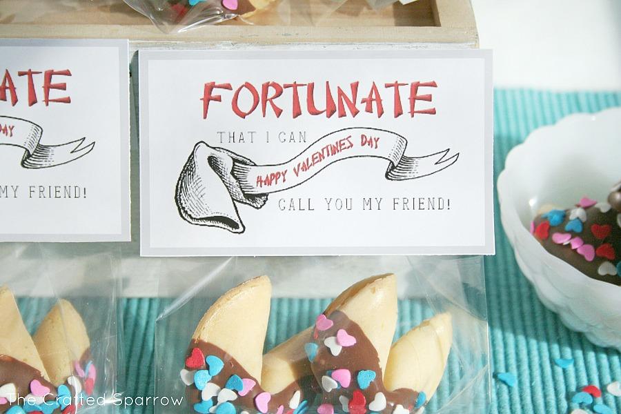 Fortune Cookie Valentine's