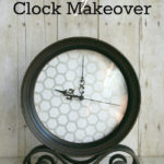 Honeycomb Clock Makeover