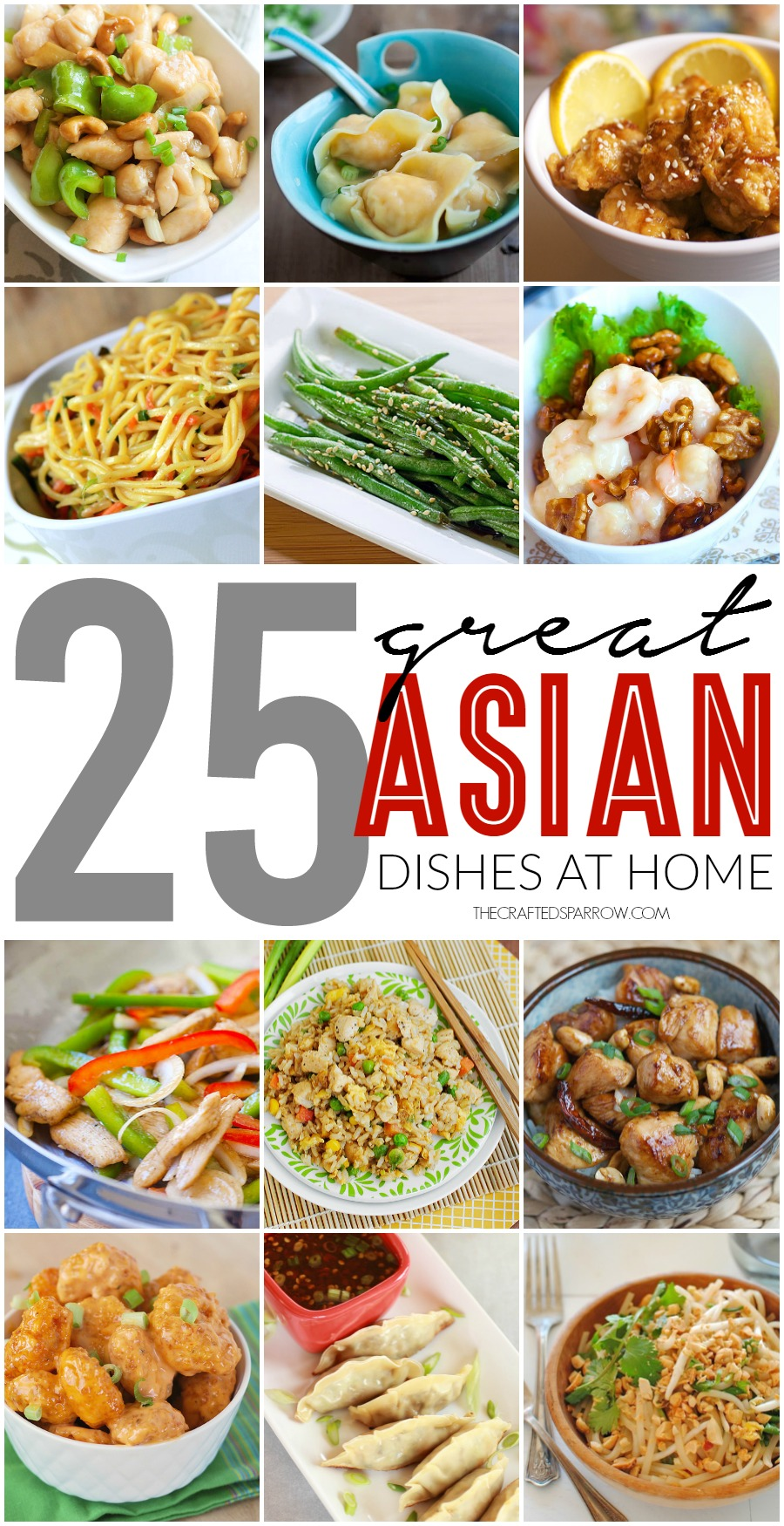 25 Great Asian Dishes at Home