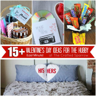 15+ Last Minute Valentines for the Hubby