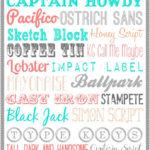 27 Amazing Free Fonts