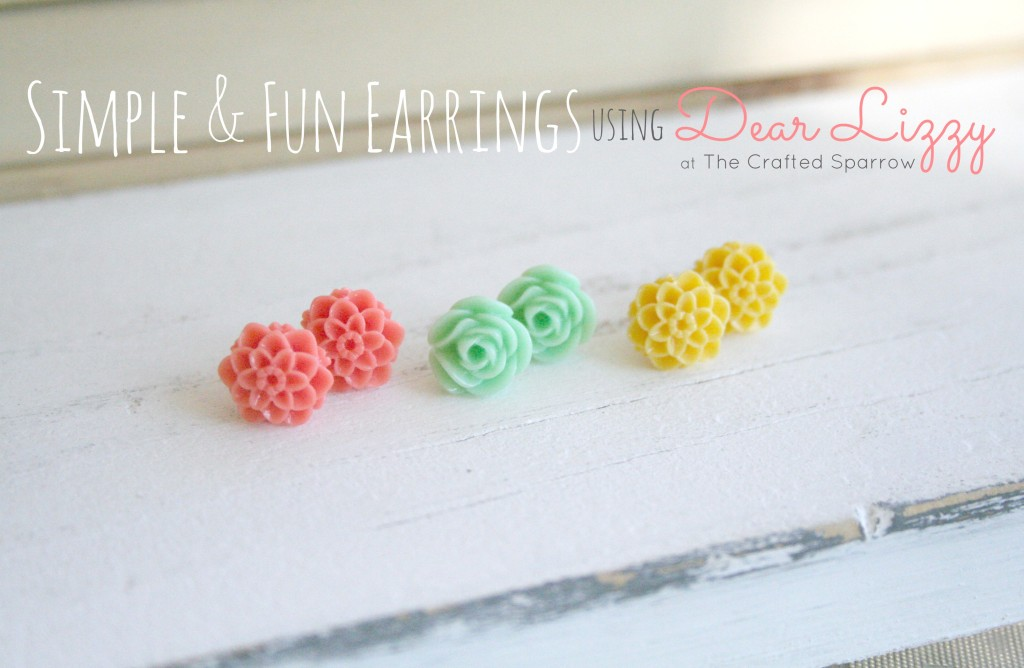 SIMPLE & FUN EARRINGS