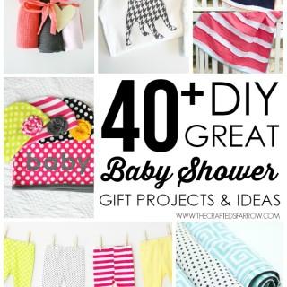 40+ DIY Baby Shower Gift Ideas