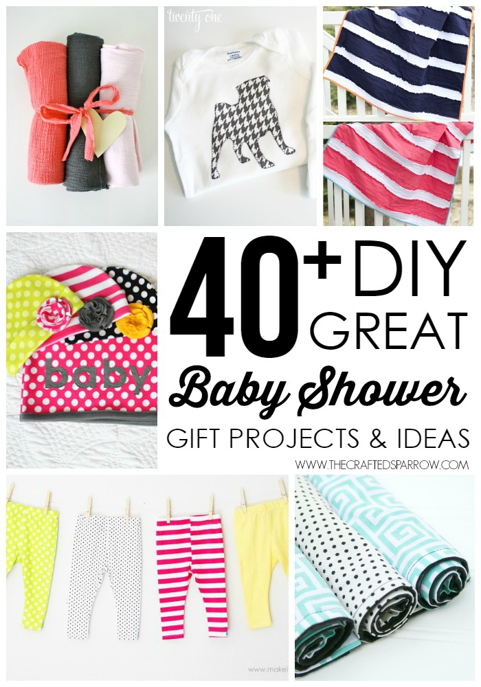 40+ DIY Baby Shower Gifts
