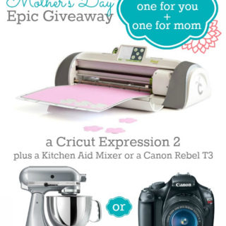 Mother's Day Gift Ideas + An Epic Giveaway