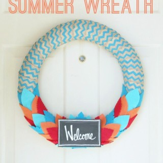Chevron Summer Wreath