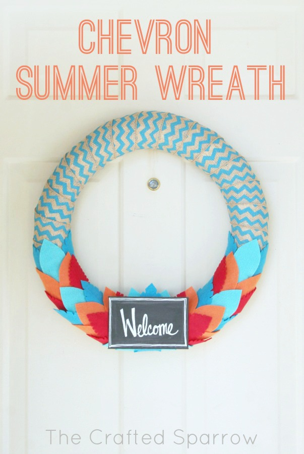 chevron-summer-wreath