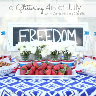 A Glittering 4th of July with American Crafts
