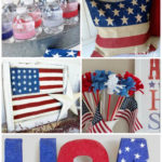 25 Fabulous 4th of July Projects & Decor Ideas {Plus a Patriotic DecoArt Giveaway}