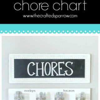 Mason Jar Chore Chart
