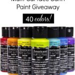 DecoArt {NEW} Americana Multi-Surface Paint Giveaway