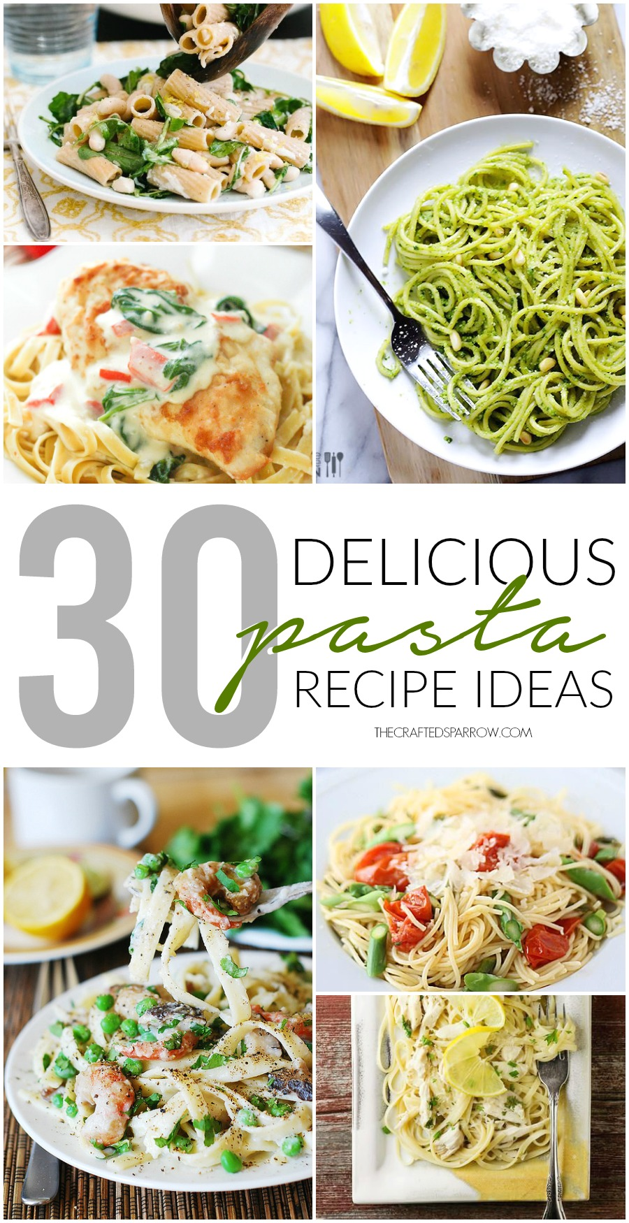 30 Pasta Recipes