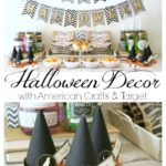 Halloween Decor with American Crafts & Target