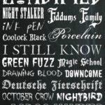 30 Halloween Fonts