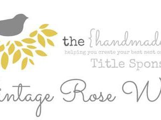 The Handmade Nest Title Sponsor Spotlight {Vintage Rose Wraps}