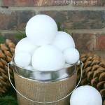 DIY Snowballs