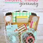 Favorite Things Giveaway { 8 Bloggers – 8 Prize Packs = 1 Lucky Winner!)