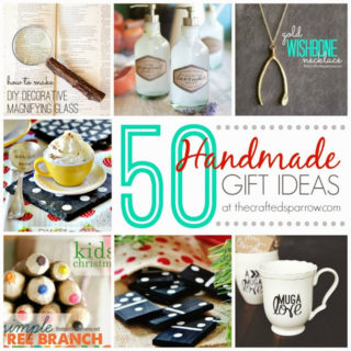 50 Handmade Gift Ideas