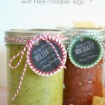 Homemade Salsa Gifts & Free Printable Tags