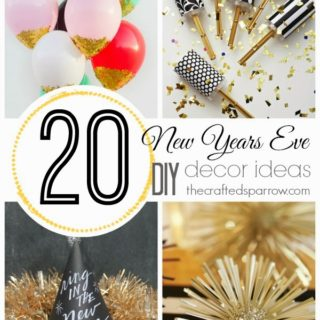 20 New Years Eve DIY Decor Ideas
