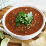 The Best Ever Restaurant Style Blender Salsa Recipe