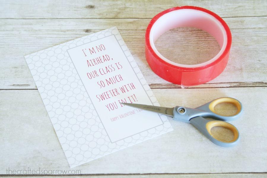 Airheads Printable Valentine's