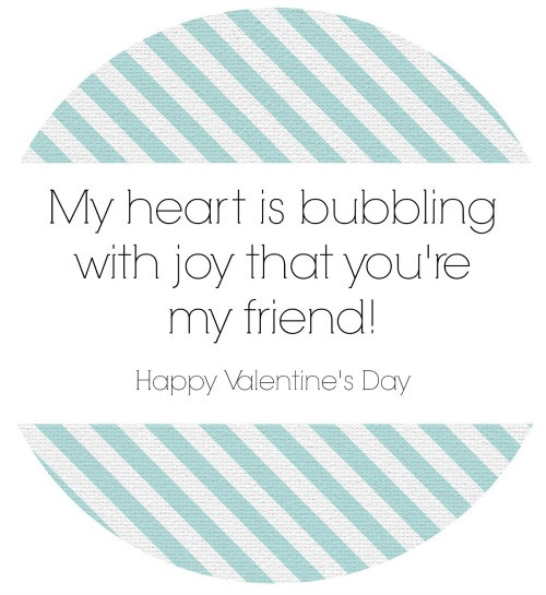 Bubble Valentine's